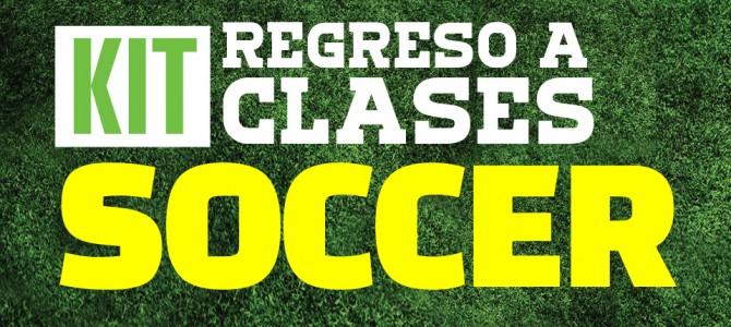 Kit regreso a clases soccer